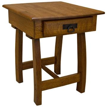 "22"" x 26"" Amish Mission Christy End Table"
