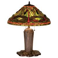 "25""H Tiffany Dragonfly Table Lamp"