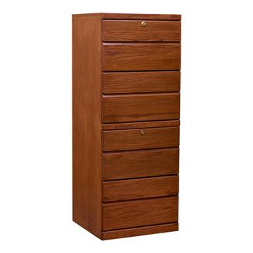 Contemporary Four-Drawer File Cabinet