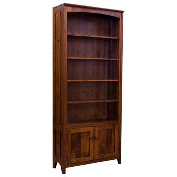 """36"""" x 84"""" Amish Mission Tempe Bookcase"""