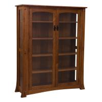 Dutch Glass Bookcase