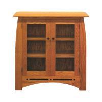 Aspen Bookcase w/ Glass Doors