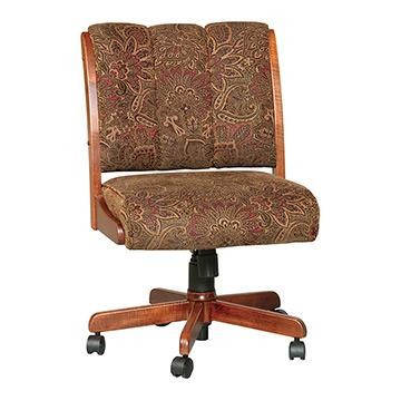 Upholstered Fabric Office Chair