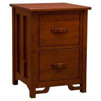Amish Greene & Greene 2-Drawer Legal File Cabinet