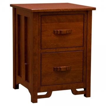Amish Greene & Greene 2-Drawer Legal File Cabinet