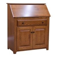 "36"" Amish Traditional Secretary Desk"