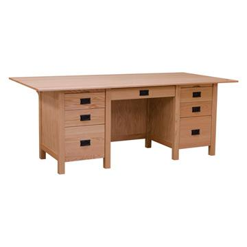 Mission Desk w/ Flat Top