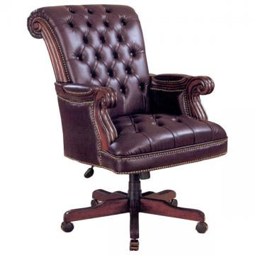 Traditional Leather Executive Office Chair