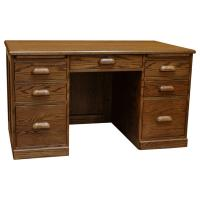 """52"""" x 30"""" Amish Traditional Desk"""