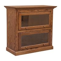 2 Stack Barrister Bookcase