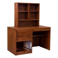 Contemporary Desk w/ Hutch