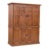 Amish Computer Armoire