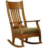 Mission Spindle Rocking Chair