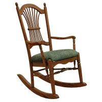 Amish Sheaf Arm Rocker