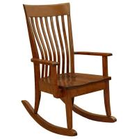 Amish Mission Christy Arm Rocker