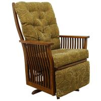 Amish Swiveling Rocker and Recliner Combo