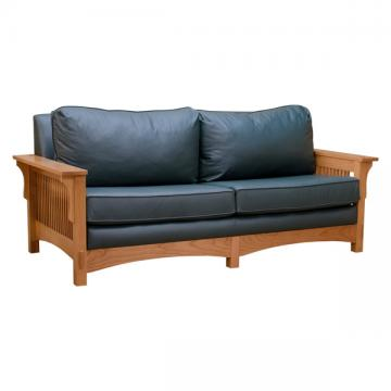 Mission Spindle Sofa