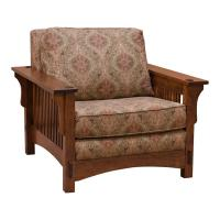 Mission Spindle Morris Chair