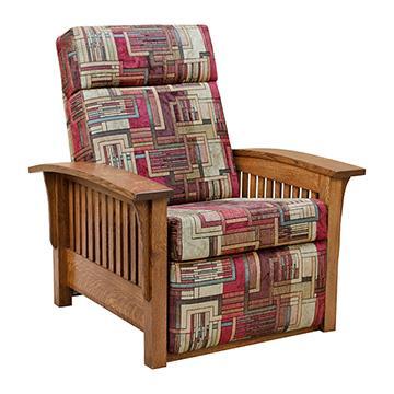 SLMI8511_360.jpg  sc 1 st  Barn Furniture & Mission Morris Recliner