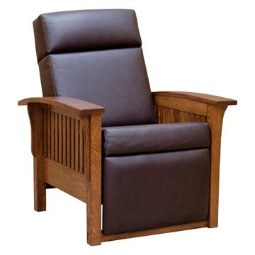"""37"""" Mission Morris Chair- Recliner"""