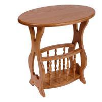 Magazine Table -Oval
