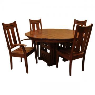"60"" RD Greene & Greene Gamble House-Dining Set 4"