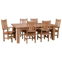 Rustic Timber Dining Set