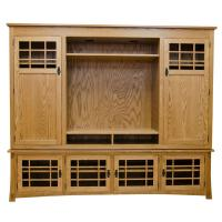 "Amish Mission 96"" Entertainment Center"
