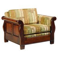 Sleigh Chair w/Optional Back