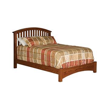 """Buckeye 5300 Economy Slat Bed w/ 14"""" Footboard"""