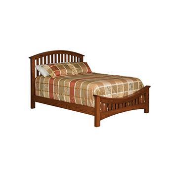 """Buckeye 5405 Economy Slat Bed w/ 26"""" Footboard"""