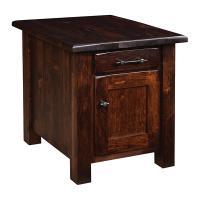 Barn Floor End Table