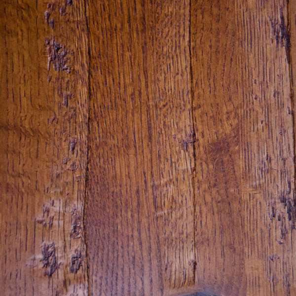 Hand Hewed 1/4 Sawn Oak